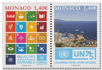 n° 3254/3255 - Timbre Monaco Poste