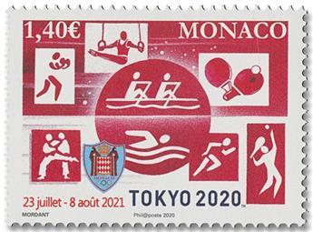 n° 3257 - Timbre Monaco Poste
