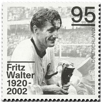 n° 3347 - Timbre ALLEMAGNE FEDERALE Poste