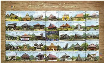 n° 3001/3034 - Timbre INDONESIE Poste