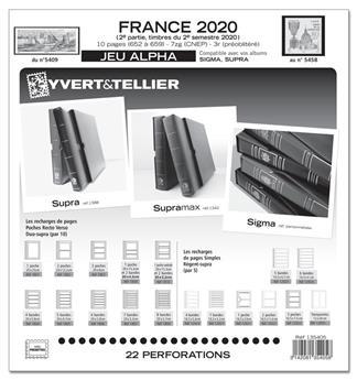 FRANCE ALPHA : 2020 - 2eme SEMESTRE (Sans pochettes)