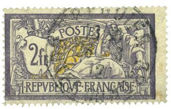 n.o 122 -  Sello Francia Correos