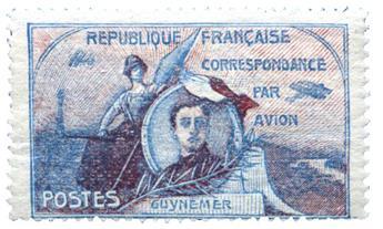 n.o 1 / 2 -  Sello Francia Correo aéreo
