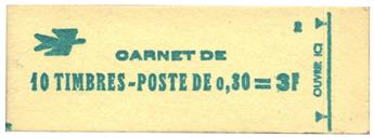 n°1536-C1** - Timbre FRANCE Carnets