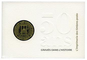 FRANCE : Livret 50 ans Imprimerie.