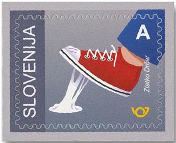 n° 1201/1205 - Timbre SLOVENIE Poste