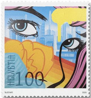 n° 2598/2601 - Timbre SUISSE Poste