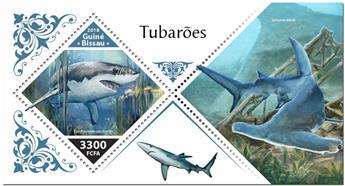 n° 1450 - Timbre GUINEE-BISSAU Blocs et feuillets