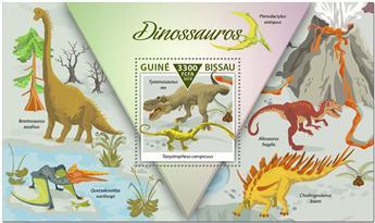 n° 1599 - Timbre GUINEE-BISSAU Blocs et feuillets
