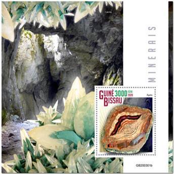 n° 1644 - Timbre GUINEE-BISSAU Blocs et feuillets
