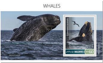 n° 1351 - Timbre MALDIVES Blocs et feuillets
