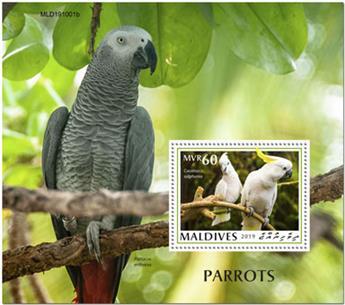 n° 1396 - Timbre MALDIVES Blocs et feuillets
