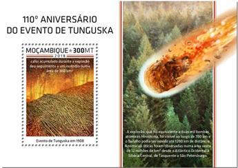 n° 1357 - Timbre MOZAMBIQUE Blocs et feuillets