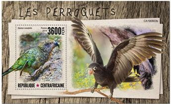 n° 1525 - Timbre CENTRAFRICAINE Blocs et feuillets