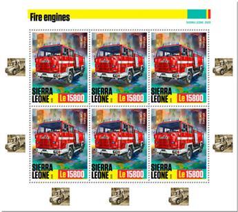 n° F9814/F9816 - Timbre SIERRA LEONE Poste
