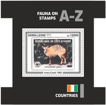 n° 1808 - Timbre SIERRA LEONE Blocs et feuillets