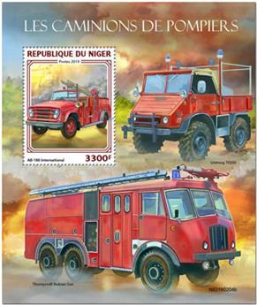 n° 1009 - Timbre NIGER Blocs et feuillets