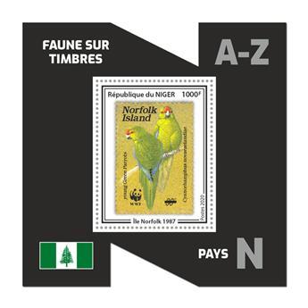 n° 1184 - Timbre NIGER Blocs et feuillets