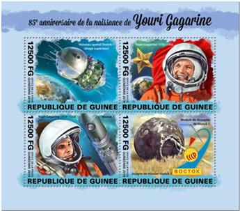 n° 10077/10080 - Timbre GUINEE Poste