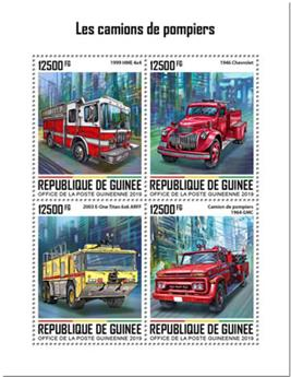 n° 10199/10202 - Timbre GUINEE Poste