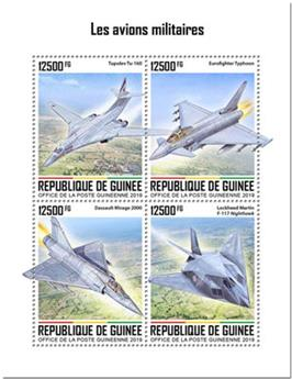 n° 10219/10222 - Timbre GUINEE Poste