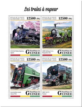 n° 10251/10254 - Timbre GUINEE Poste