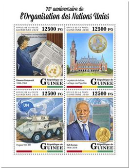 n° 10331/10334 - Timbre GUINEE Poste