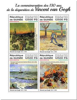 n° 10351/10354 - Timbre GUINEE Poste