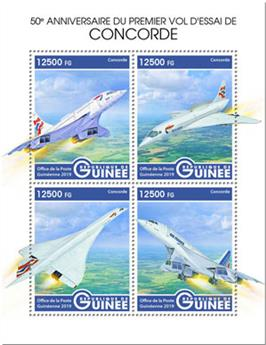n° 9949/9952 - Timbre GUINEE Poste