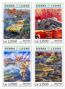 n° 8591/8594 - Timbre SIERRA LEONE Poste