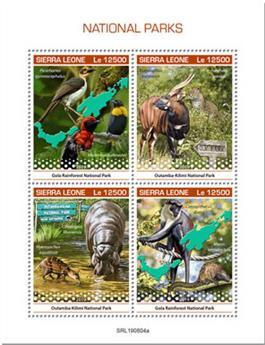 n° 9210/9213 - Timbre SIERRA LEONE Poste