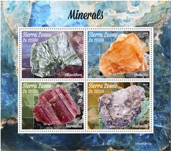 n° 9251/9254 - Timbre SIERRA LEONE Poste