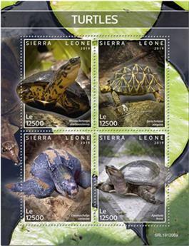 n° 9529/9532 - Timbre SIERRA LEONE Poste
