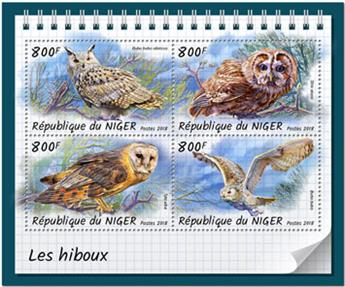 n° 4773/4776 - Timbre NIGER Poste