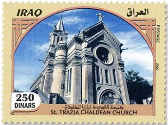n° 1905/1912 - Timbre IRAK Poste