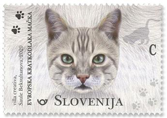 n° 1207/1209 - Timbre SLOVENIE Poste
