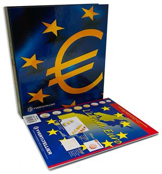 Album EUROCOLLECTION - MICRO ETATS (Andorre, Monaco, Saint-Marin et Vatican)