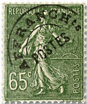 n° 49 -  Selo França Pré-obliterados
