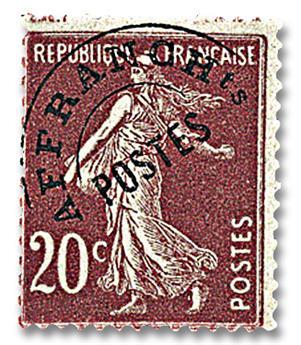 n.o 54 -  Sello Francia Precancelados