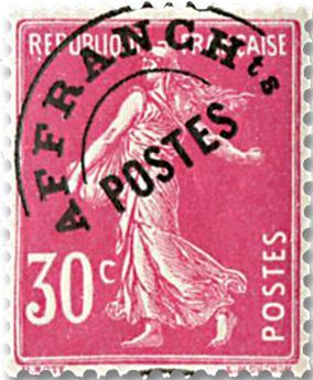 n° 59 - Timbre France Préoblitérés