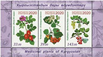 n° 96 - Timbre KIRGHIZISTAN (Poste Kirghize) Blocs et feuillets
