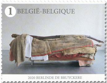 n° 4954 - Timbre BELGIQUE Poste