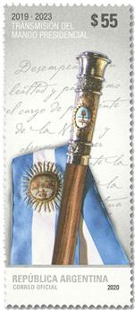 n° 3234 - Timbre ARGENTINE Poste