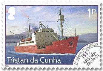 n° 1262/1274 - Timbre TRISTAN DA CUNHA Poste
