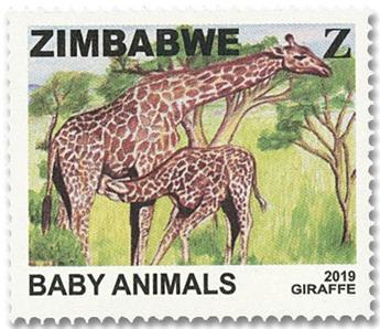 n° 822/825 - Timbre ZIMBABWE Poste