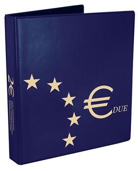 Reliure 2 Euros commémoratifs - MARINI® (Nouveau design)
