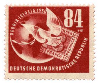 n°14** - Timbre ALLEMAGNE DDR Poste