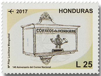 n° 1479/1480 - Timbre HONDURAS Poste aérienne