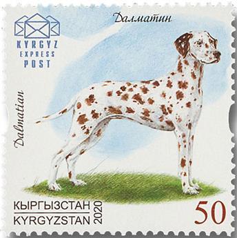 n° 136/138 - Timbre KIRGHIZISTAN (Kyrgyz Express Post) Poste