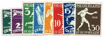 n°199/206**/* - Timbre PAYS-BAS Poste